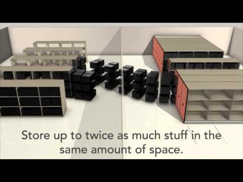 Mobile Shelving Concept