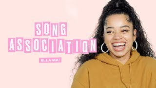 Ella Mai Sings Nicki Minaj, Adele, and Beyonce in a Game of Song Association | ELLE