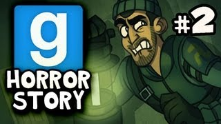 GHOST BENCH - Gmod Scary United Coop HORROR STORY w/Nova, Immortal & Kevin Ep.2