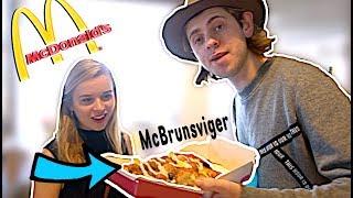 Bestiller En McBrunsviger på McDonalds! (Hemmelig Burger)