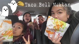 Our family can see ghosts?! || Taco Bell Mukbang