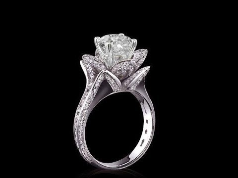Engagement rings for women on
