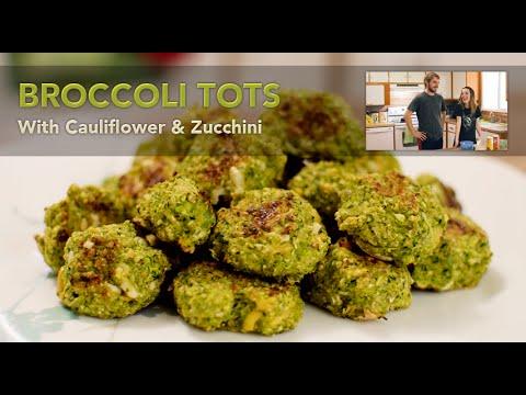 Cooking With HaleyRaymond - Broccoli Cauliflower Zucchini Tots thumbnail