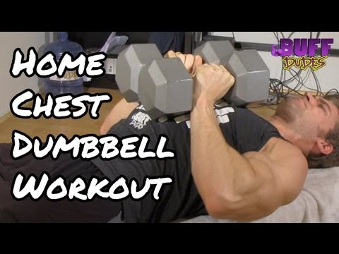 Home Chest Workout Routine - Best Dumbbell Exercises