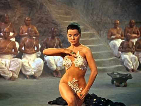 The Indian Tomb - Debra Paget - Snake Dance Scene - Hd video