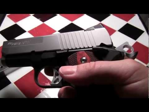SIG SAUER 1911 ULTRA TWO TONE REVIEW