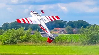 SPECTACULAR RC plane flight show ends up with a broken plane!