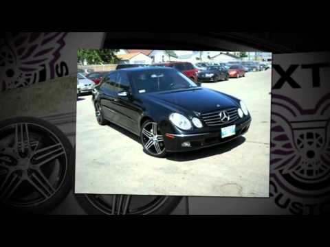 2003 Mercedes Benz E500 Winnipeg Mb 19 Amg Rims And Tires Youtube