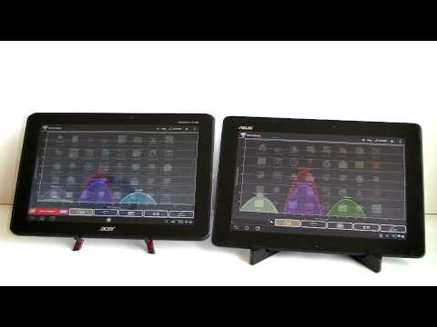 Asus Transformer Pad TF300 vs Acer Iconia Tab A510 Comparison