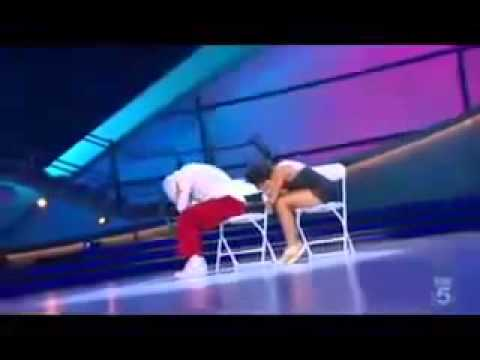 Sabra et Dominic break dance   Make it work Ne Yo