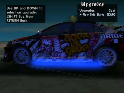 Mitsubishi Lancer Evolution X mode GTA San Andreas