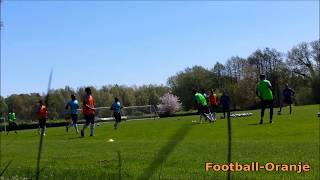 Training Session Netherlands U17s in England