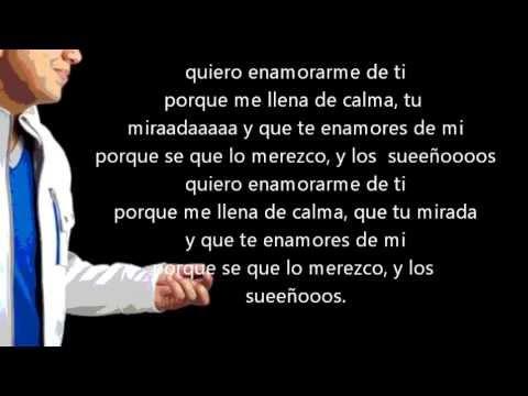 Quiero Enamorarme De Ti - Felipe Pelaez con letra