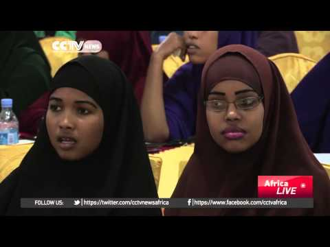 Young women fighting insurgency in the Somalia