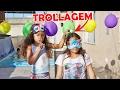 DESAFIO DO BALÃO! - JULIANA BALTAR