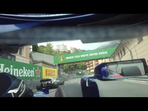 F1 Driver's Eye View with Pierre Gasly | 2018 Monaco Grand Prix
