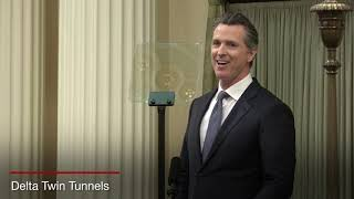 Governor Gavin Newsom delivers State of the State address