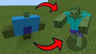 How To Spawn MUTANT ZOMBIE in Minecraft PE | MCPE Journalist