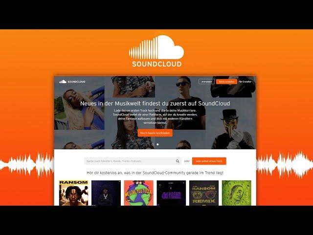 Play this video Wie funktioniert SoundCloud? Das GroГe Tutorial Einfach Musik hГren und hochladen