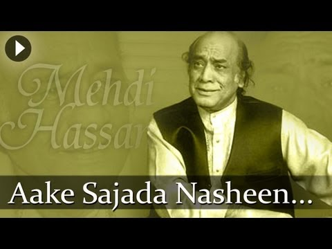 Aake Sajjada Nasheen - Mehdi Hassan - Top Ghazal Songs video
