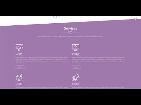 Сайт 3, урок 5. Создание сайта с нуля в редакторе PIXLI.