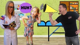 TOY DOCTOR Fixes Maya's Hearing !!!