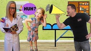 TOY DOCTOR Fixes Maya's Hearing !!!