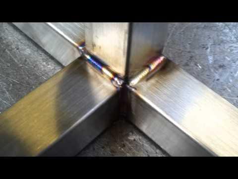 Stainless steel tig welding