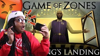 KOBE FAN REACTS TO THE MOST DISRESPECTFUL VIDEO! The King's LAnding | Game of Zones X-Mas Special