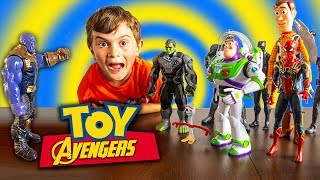 Buzz Joins The Avengers!! - Toy Story 4 Parody