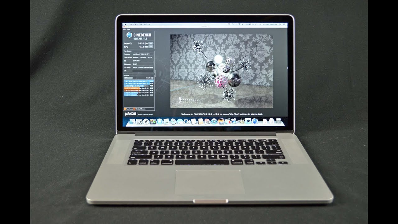 Apple Macbook Pro 15 Quot Retina Display Speed