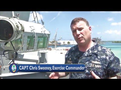 2016 Multi Sail exercise in Guam