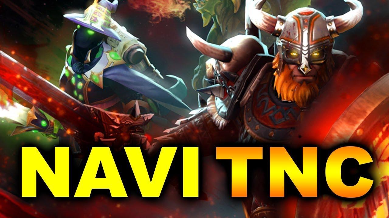 NAVI vs TNC - SWISS GROUP FINAL - BUCHAREST MAJOR 2018 DOTA 2