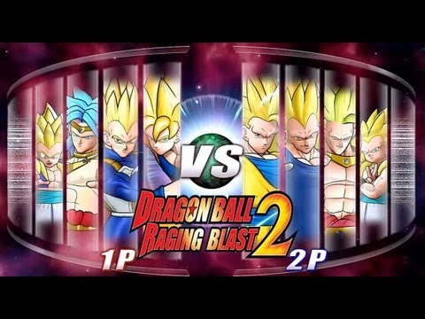 Dragon Ball Z Raging Blast 2 - Super Saiyan Vs. Super Saiyan 3 (live Commentary) video