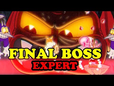 Cuphead - EXPERT - The Devil in One Hell of a Time [FINAL BOSS]