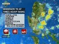 download 24 Oras: Weather update as of 6:11 p.m. (Nov. 19, 2017)
