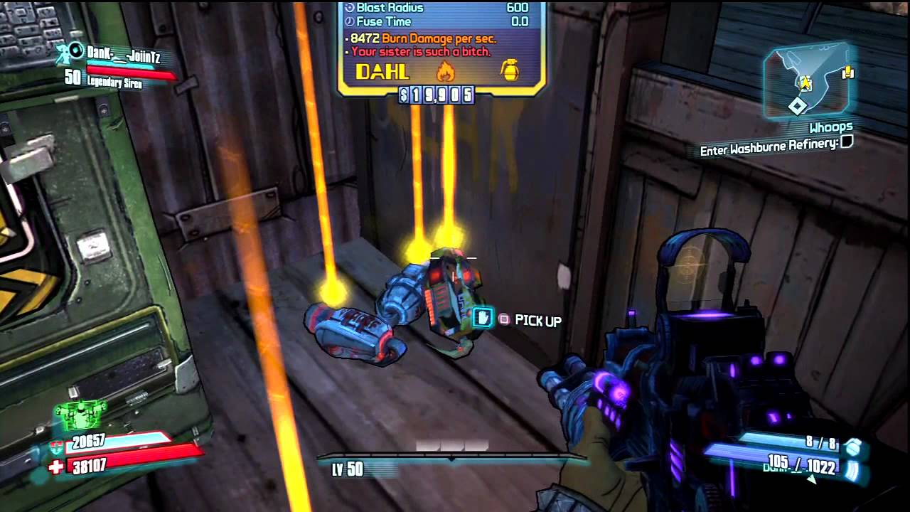 Borderlands 2 increase inventory slots