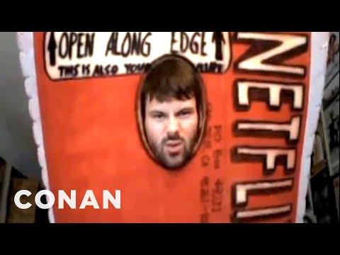 Fan Correction: Conan's Netflix Costume Is WRONG - CONAN on TBS