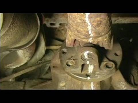 Replacing A Rear Axle U Joint How To Index Amp Remove A