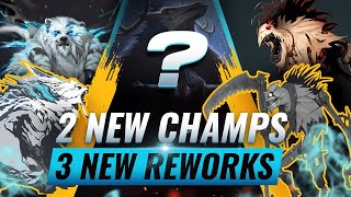 MASSIVE CHANGES: 2 NEW CHAMPIONS + 3 NEW REWORKS UPDATED - League of Legends Season 10