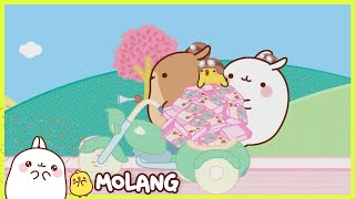 Molang - The side car | Full Molang episodes - Cartoon for kids
