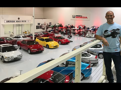 Inside American Honda's secret museum  *Located somewhere in Southern ...