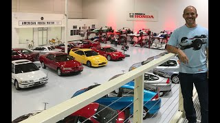 Inside American Honda's secret museum  *Located somewhere in Southern California