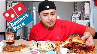 The 5 Large Domino's Pizza Challenge 2.0   BeardMeatsFood