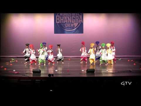 Gabru Chel Chabileh  Worlds Best Bhangra Crew 2013 video
