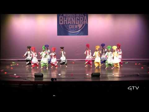 Gabru Chel Chabileh  Worlds Best Bhangra Crew 2013