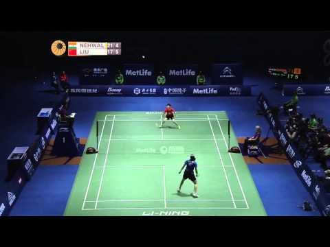 SF - 2014 China Open -  Saina Nehwal vs Liu Xin