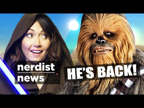 CHEWBACCA Returns In STAR WARS 7 & More! (Nerdist News w/ Jessica Chobot)