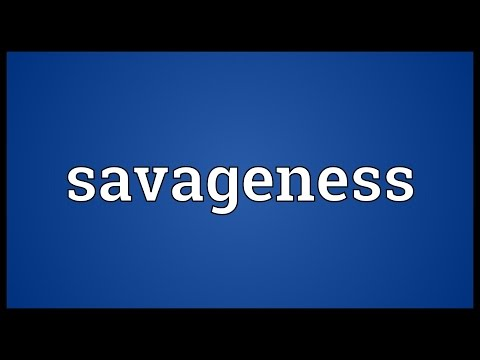 Header of savageness