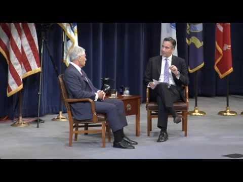 Sec Def Chuck Hagel and Jim Sciutto: Live town hall at U.S. Naval War College